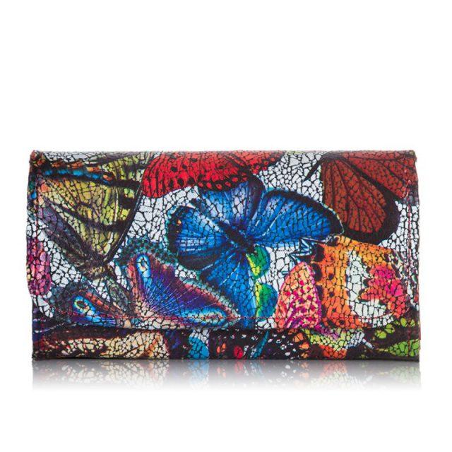 kolorowy portfel