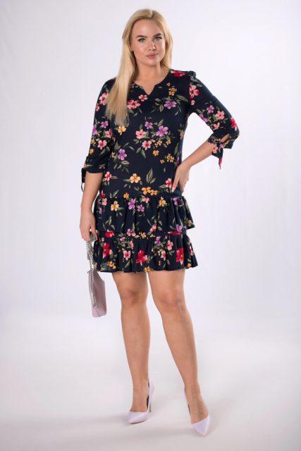 sukienki z printem