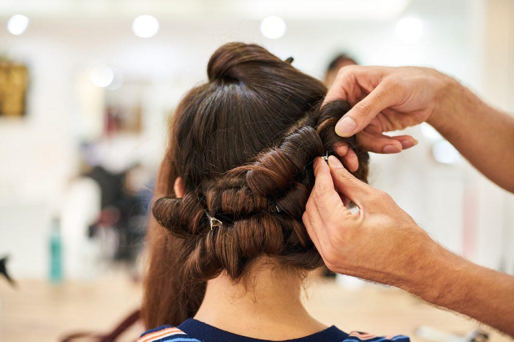 fryzura wieczorowa